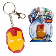 Marvel - Porte-clef Souple Casque Iron Man 6cm