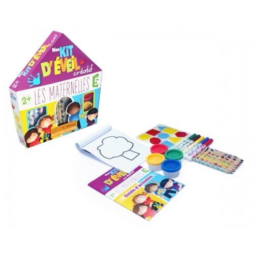 Les Maternelles - Jeu - Mon kit d'éveil créatif