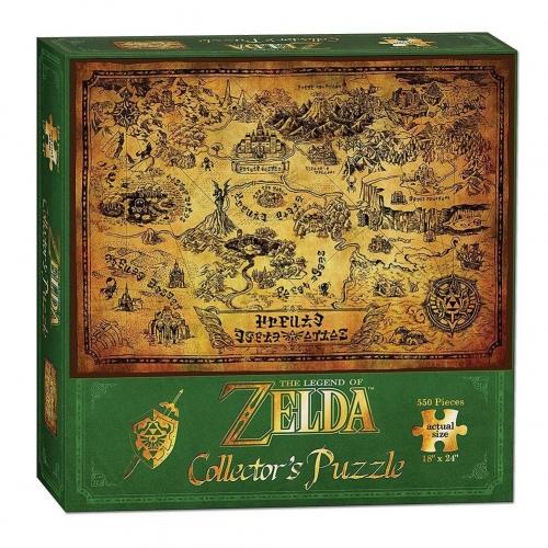 The Legend of Zelda - Puzzle Hyrule Map
