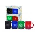 DC Universe - Set de 4 Mugs Translucides