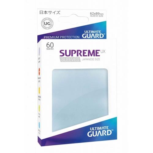 Ultimate Guard - 60 pochettes Supreme UX Sleeves format japonais Transparent
