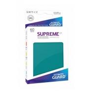 Ultimate Guard - 60 pochettes Supreme UX Sleeves format japonais Bleu Pétrole