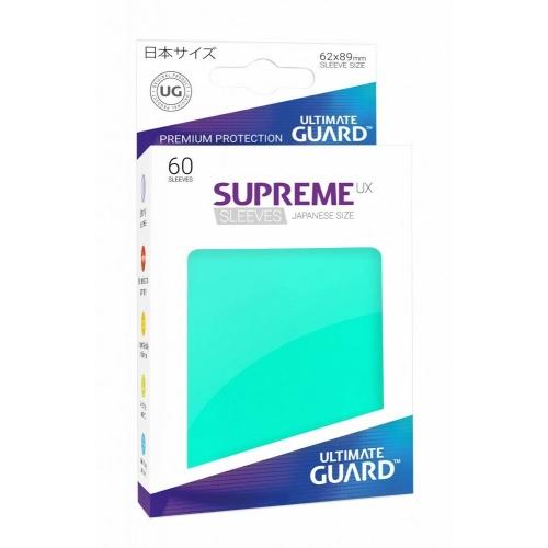 Ultimate Guard - 60 pochettes Supreme UX Sleeves format japonais Turquoise