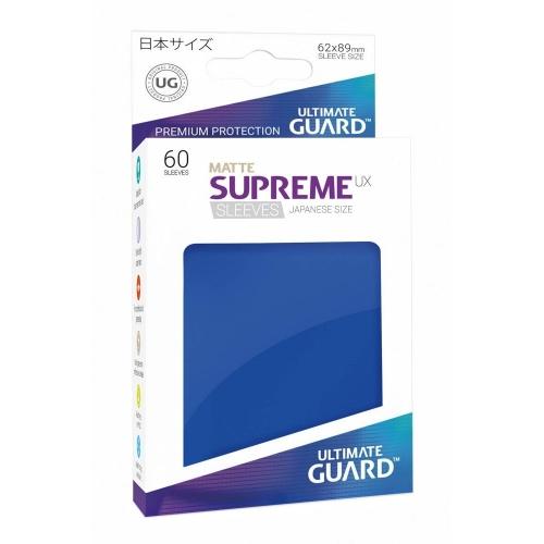 Ultimate Guard - 60 pochettes Supreme UX Sleeves format japonais Bleu Mat