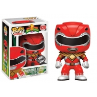 Power Rangers - Figurine POP! Dragon Shield Red Ranger 9 cm