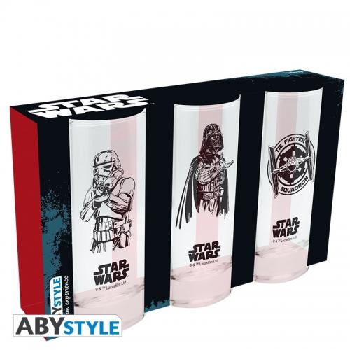 Star Wars - Set de 3 verres