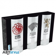 Game Of Thrones - Set de 3 verres