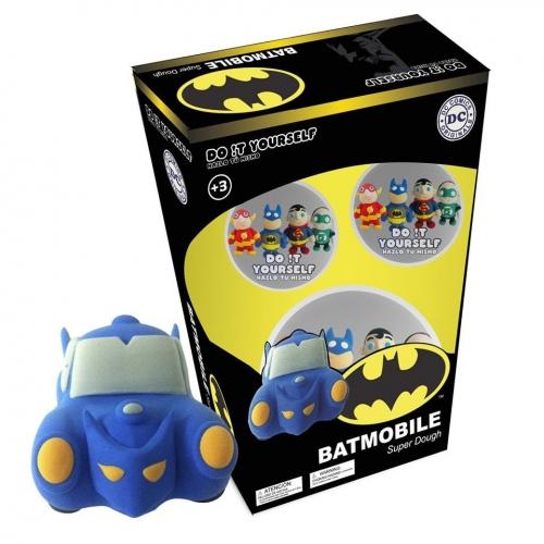 Batman - Do it Yourself Batmobile Super Dough Characters