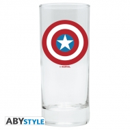 Marvel - Verre Captain America