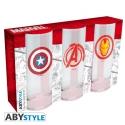Marvel - Set de 3 verres
