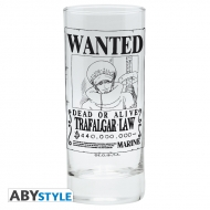 One Piece - Verre Trafalgar Wanted