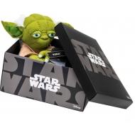 Star Wars - Peluche Black Line Yoda 25 cm