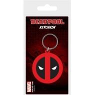 Marvel Comics - Porte-clés caoutchouc Deadpool Symbol 6 cm