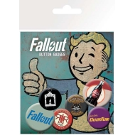 Fallout - Pack 6 badges Mix 2