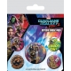 Les Gardiens de la Galaxie Vol. 2 - Pack 5 badges Rocket & Groot