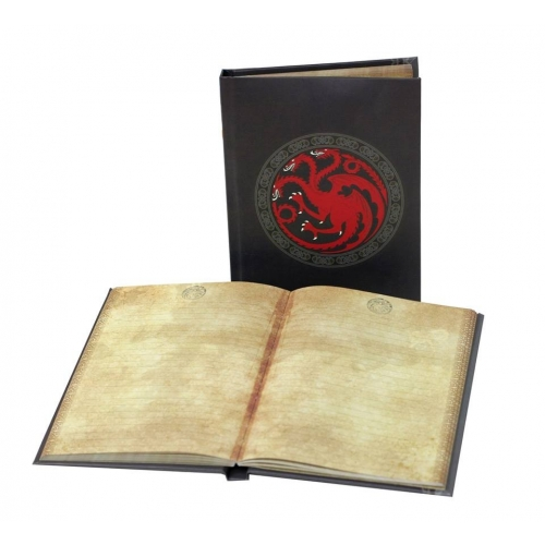 Game of Thrones - Notebook Lumineux Targaryen