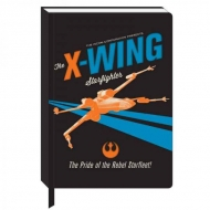Star Wars - Cahier A5 X-Wing Icon