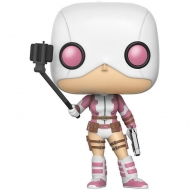 Marvel Comics - Figurine POP!  Selfie Gwenpool Summer Convention Exclusive 9 cm
