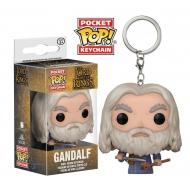 Le Seigneur des Anneaux - Porte-clés Pocket POP! Vinyl Gandalf 4 cm