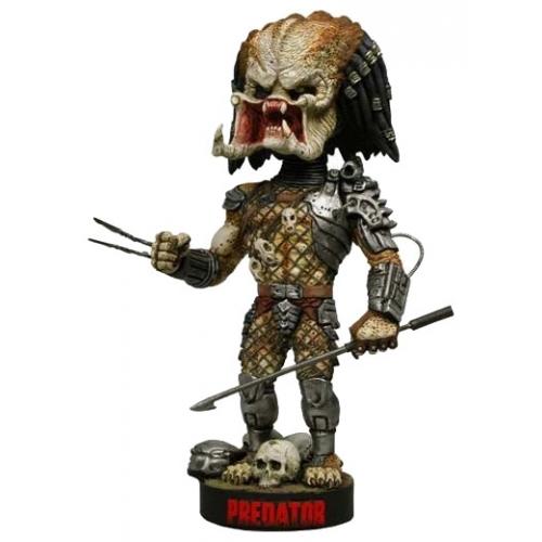Predator - Figurine Head Knocker avec sa lance 23 cm