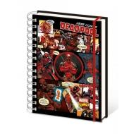 Marvel Comics - Cahier à spirale A5 Deadpool