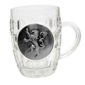 Game Of Thrones - Chope Le Trône de fer avec logo Metallic Lannister