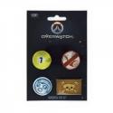 Overwatch - Pack 4 badges Roadhog