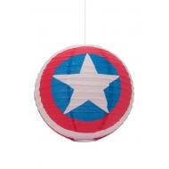 Marvel Comics - Lanterne Boule en Papier Captain America 30 cm