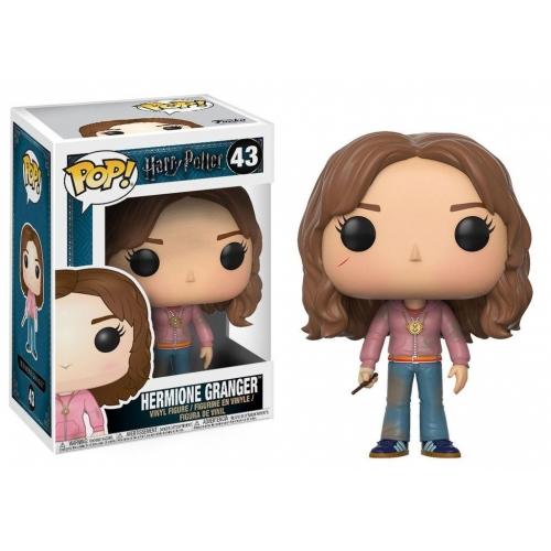 Harry Potter - Figurine POP! Hermione avec retourneur de temps 9 cm
