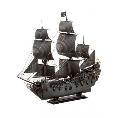 Pirates des Caraïbes - Maquette 1/72 Black Pearl 47 cm