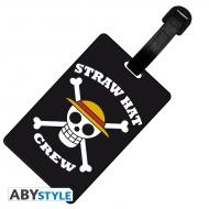 One Piece - Etiquette de bagage Skull Luffy