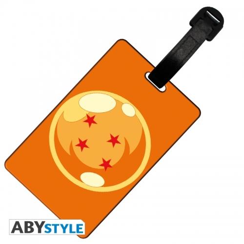 Dragon Ball - Etiquette de bagage Boule de cristal