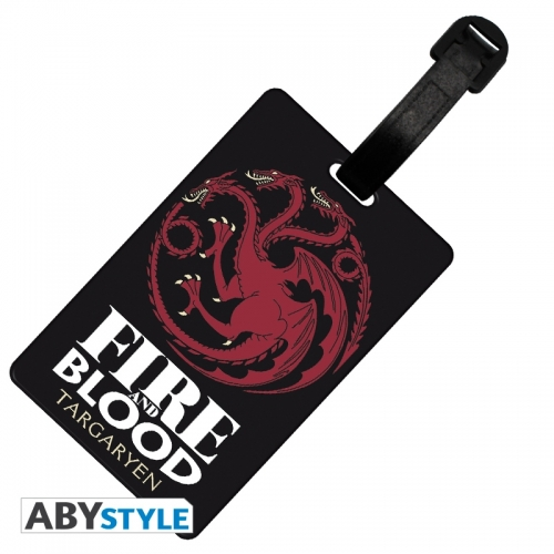 Game Of Thrones - Etiquette de bagage Targaryen
