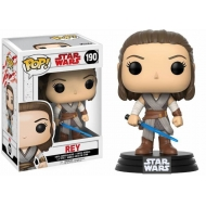 Star Wars Episode VIII - Figurine POP! Bobble Head Rey 9 cm
