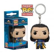 Thor Ragnarok - Porte-clés Pocket POP! Loki 4 cm