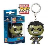 Thor Ragnarok - Porte-clés Pocket POP! Hulk (Gladiator Suit) 4 cm