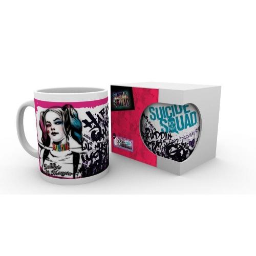 DC Comics - Suicide Squad mug Grunge Harley heo Exclusive