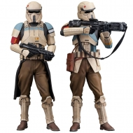 Star Wars Rogue One - Pack 2 statuettes ARTFX+ Scarif Stormtrooper 18 cm