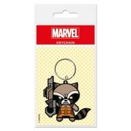 Les Gardiens de la Galaxie - Porte-clés Kawaii Rocket Raccoon 6 cm