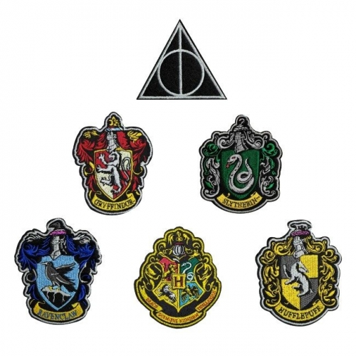Harry Potter - Pack 6 Ecussons House Crests