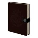 Harry Potter - Carnet de notes Premium A5 Hogwarts Crest
