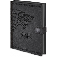 Game of Thrones - Carnet de notes Premium A5 Stark