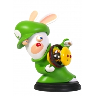Mario + The Lapins Cretins Kingdom Battle - Figurine Rabbid-Luigi 16 cm