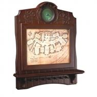 Le Hobbit - Présentoir mural pour 7 clés Carte de Bag End