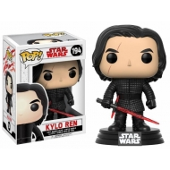 Star Wars Episode VIII - Figurine POP! Bobble Head Kylo Ren 9 cm