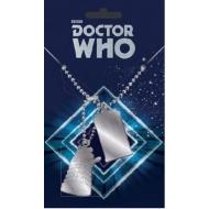 Doctor Who - Pendentifs Dog Tag Tardis & Dalek