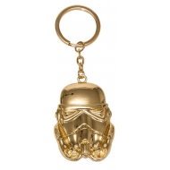 Star Wars Episode VIII - Porte-clés métal Golden Stormtrooper