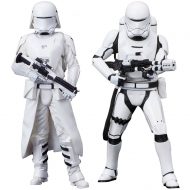 Star Wars Episode VII - Pack 2 statuettes ARTFX+ First Order Snowtrooper & Flametrooper 18 cm