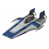 Star Wars - Maquette sonore et lumineuse Build & Play 1/44 Resistance A-Wing Fighter Blue