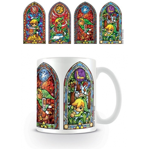 The Legend of Zelda - Mug Stained Glass